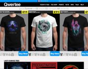 Qwertee des t-shirts pour les geeks et les geekettes