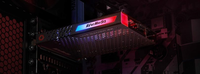 Avermedia : une nouvelle carte gaming 4K