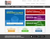 OMGSERV : présentation de l'offre Minecraft Illimité