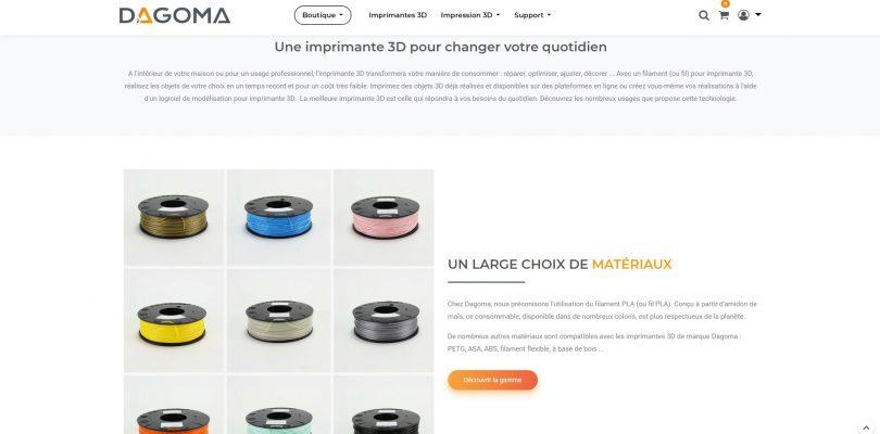 Dagoma : la marque référence en matière d'imprimante 3D